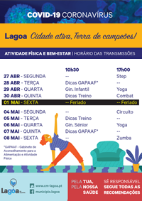 cartaz Desporto