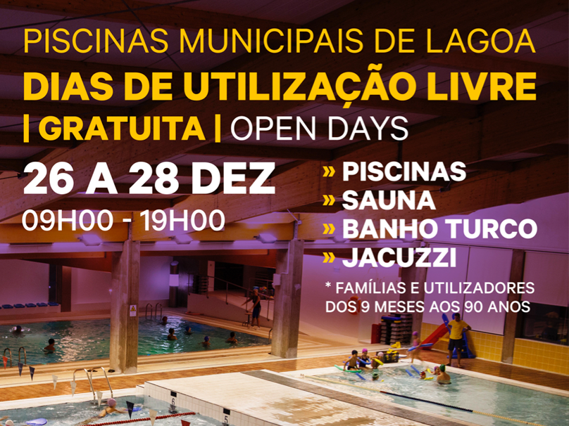 Piscinas Municipais Open Day